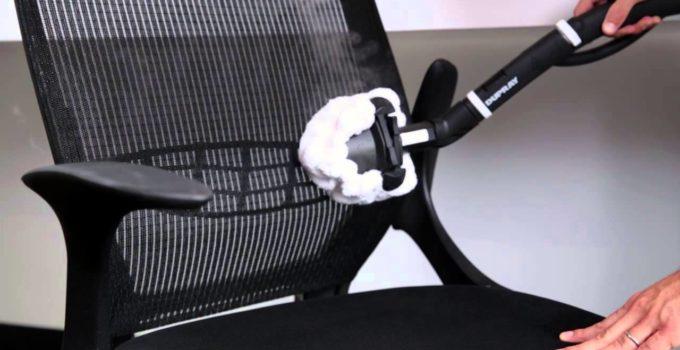 come pulire una sedia da ufficio