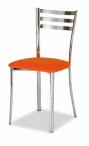 sedie da cucina metallo moderna