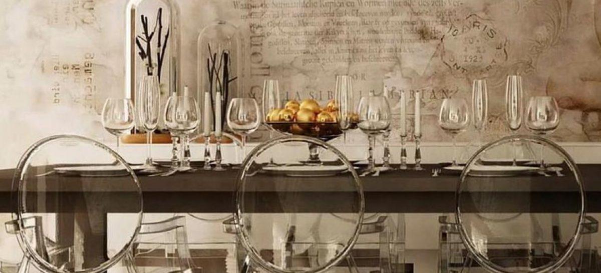 sedie da cucina trasparenti