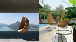 sedie moderne da giardino