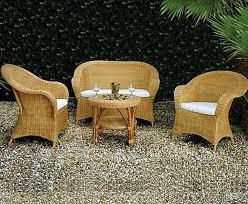 sedie rattan da giardino