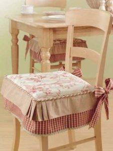 Cuscini per sedie shabby chic - Sedie.org